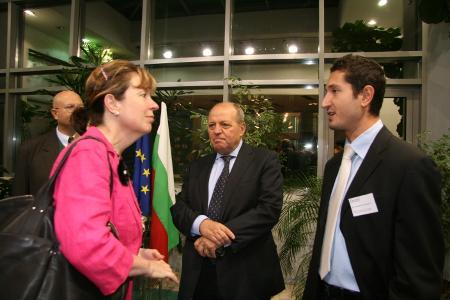 """С нашия съдия в Люксембург Александър Арабаджиев и """"дясната му ръка"""" – реферандерат в Съда на ЕС Александър Корнезов."""