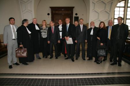 """Хората от """"Адвокати За Промяна"""", които днес са по-голямата част от членовете на Софийския адвокатски съвет."""