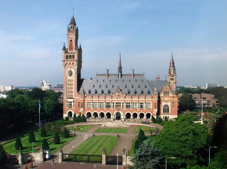 Дворецът на мира в Хага (Холандия), където се помещава Международният съд на ООН