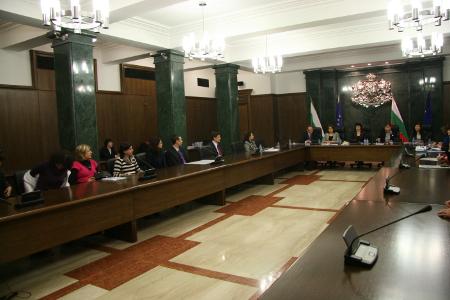 6 април 2011 г. – Изслушването в конферентната зала на софийската Съдебна палата