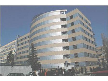 Сградата, която беше строена за ДКСИ, а в последствие ба дадена на ГДБОП.