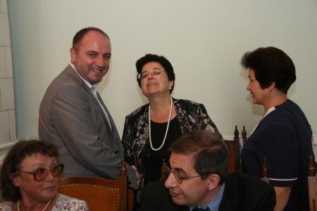 С експравосъдния министар Антон Станков.