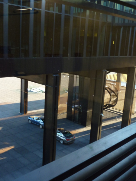 В Съда на ЕС стълбищата са предимно аварийни.