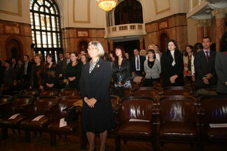 Съдия Венета Марковска през октомври 2010 г бе единственият върховен магистрат, който уважи церемонията по дипломирането на магистрантите по право на ЕС в Софийския университет. Заради политическите напрежения между ГЕРБ и РЗС ( д-р Атанас Семов е ръководител на програмата), никой от ВИП политическият и правен елит не посмя да припари на церемонията.