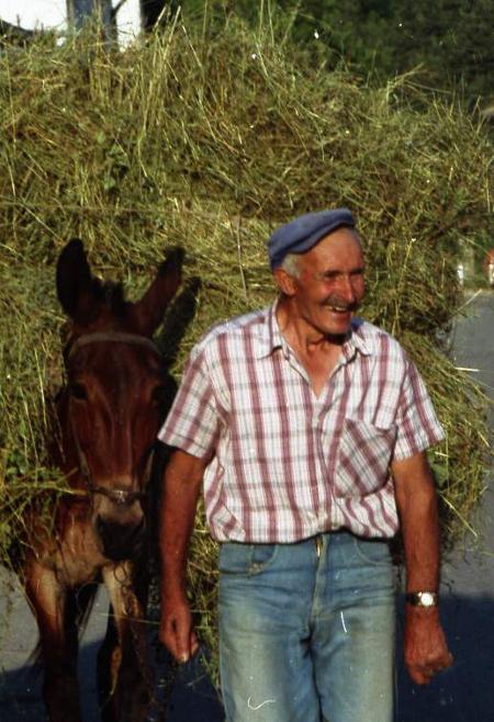 Представете си как този усмихнат и смазан от кърски труд българин ще дава по 25 лева на месец за всеки член от семейството си, за да секнат кражбите в селото му !?
